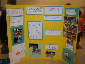 Jr FLL Show Me Poster Example