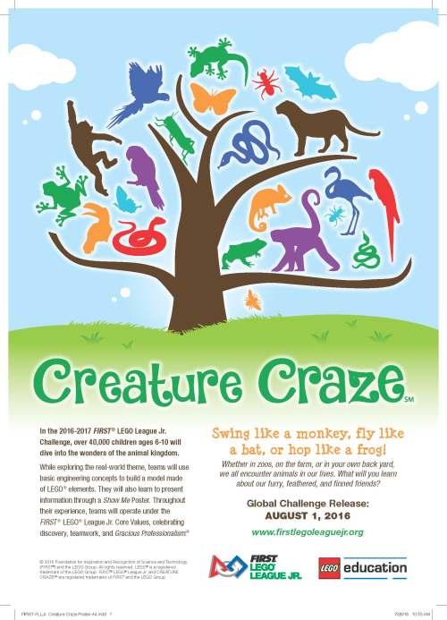 first-flljr-creature-craze-poster-a4-print